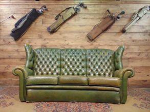 Divani e poltrone chesterfield vintage