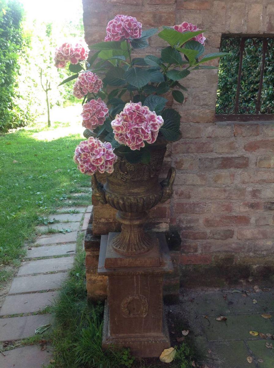 Vaso da giardino in ghisa - Vaso da giardino ...