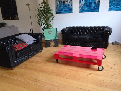 Baratti Antique Shop - Rental of Chesterfield sofas and armchairs for events - 3