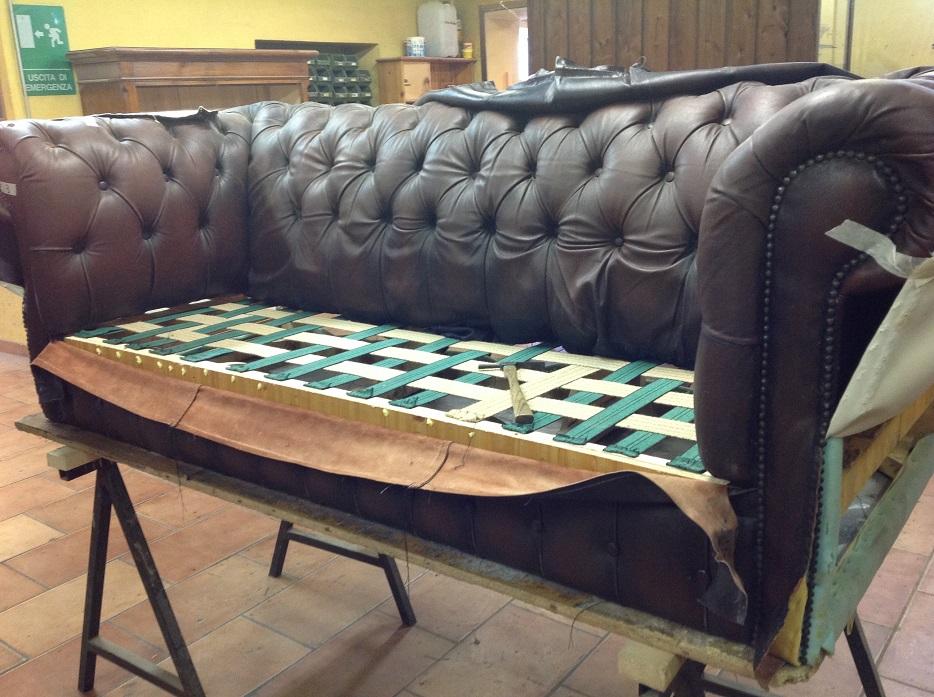 Restauro e vendita divani chesterfield poltrone for Tessuti arredamento inglesi