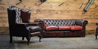 Affitto divani chesterfield noleggio poltrone for Mobili antichi usati