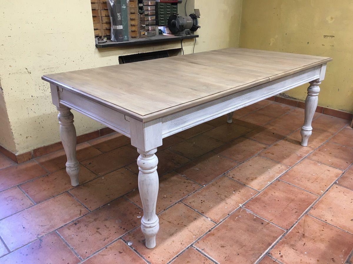 Tavolo con gambe tornite img_3431.jpg