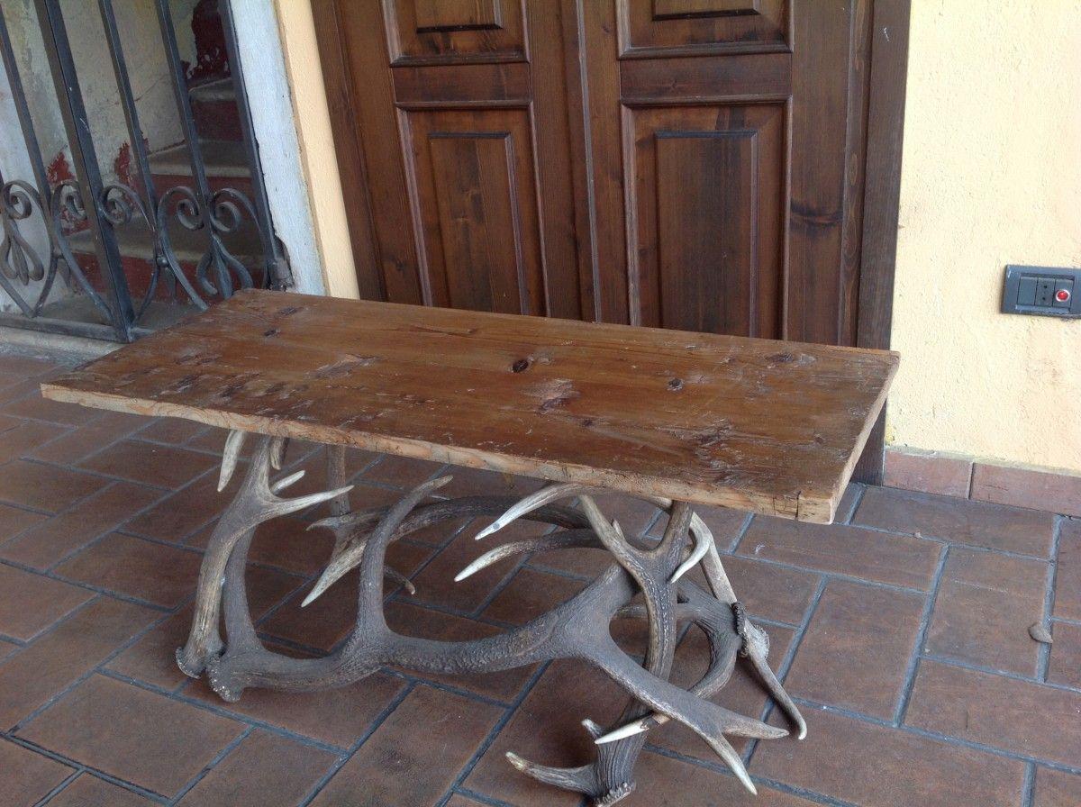 Tavolino in corna di cervo img_2729-1200.jpg