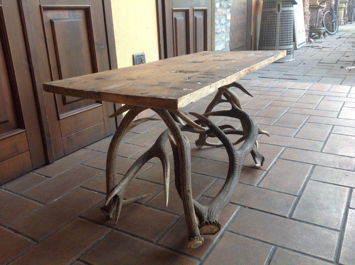Tavolino in corna di cervo img_2732-1200.jpg
