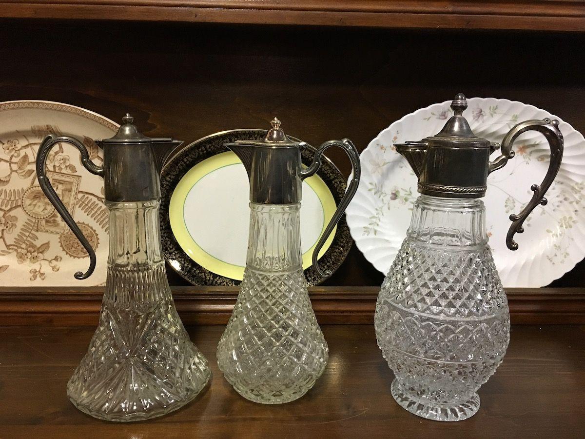 Bottiglie in cristallo con maniglia in sheffield img_3015.jpg