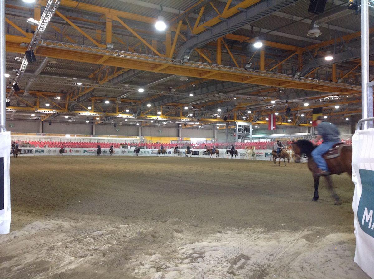 Allestimento alla fiera dei cavalli di Cremona per lo stand Quarter Dream img_9798.jpg