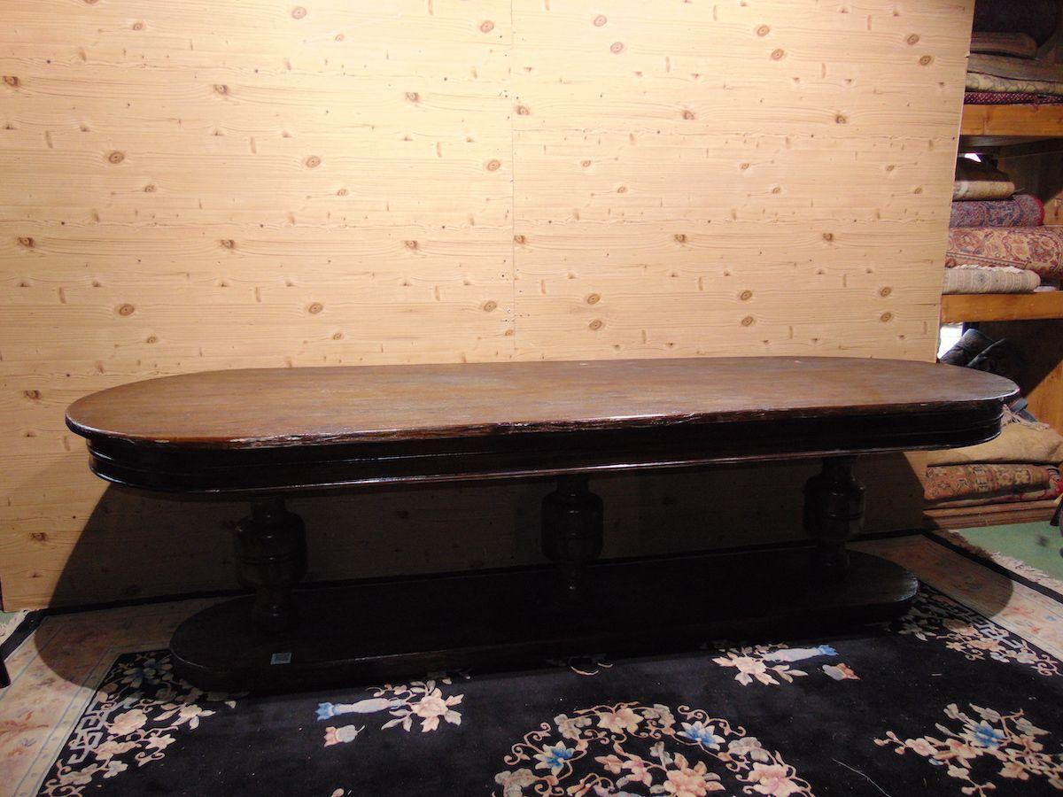 Grande tavolo ovale in rovere massello 2049...jpg