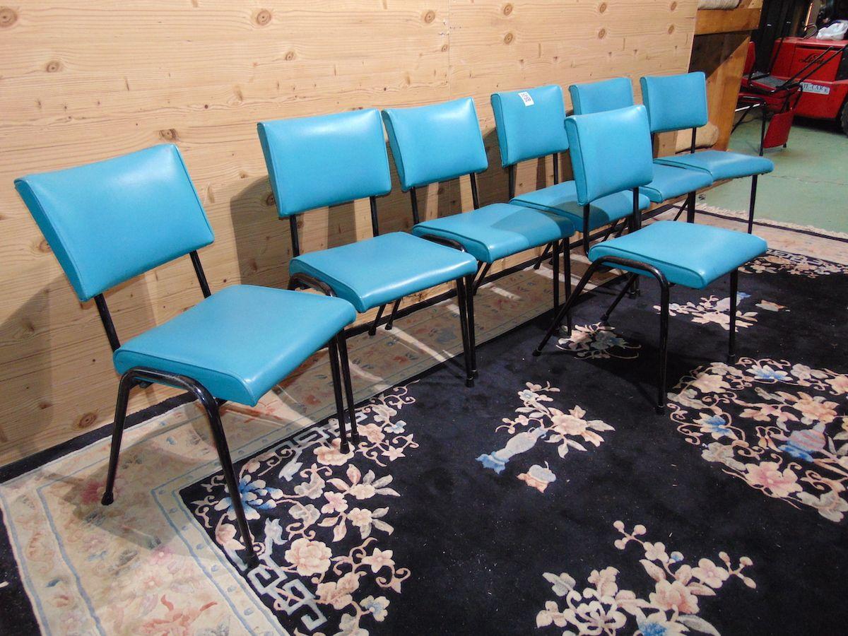 Sedie vintage azzurre 2059...jpg