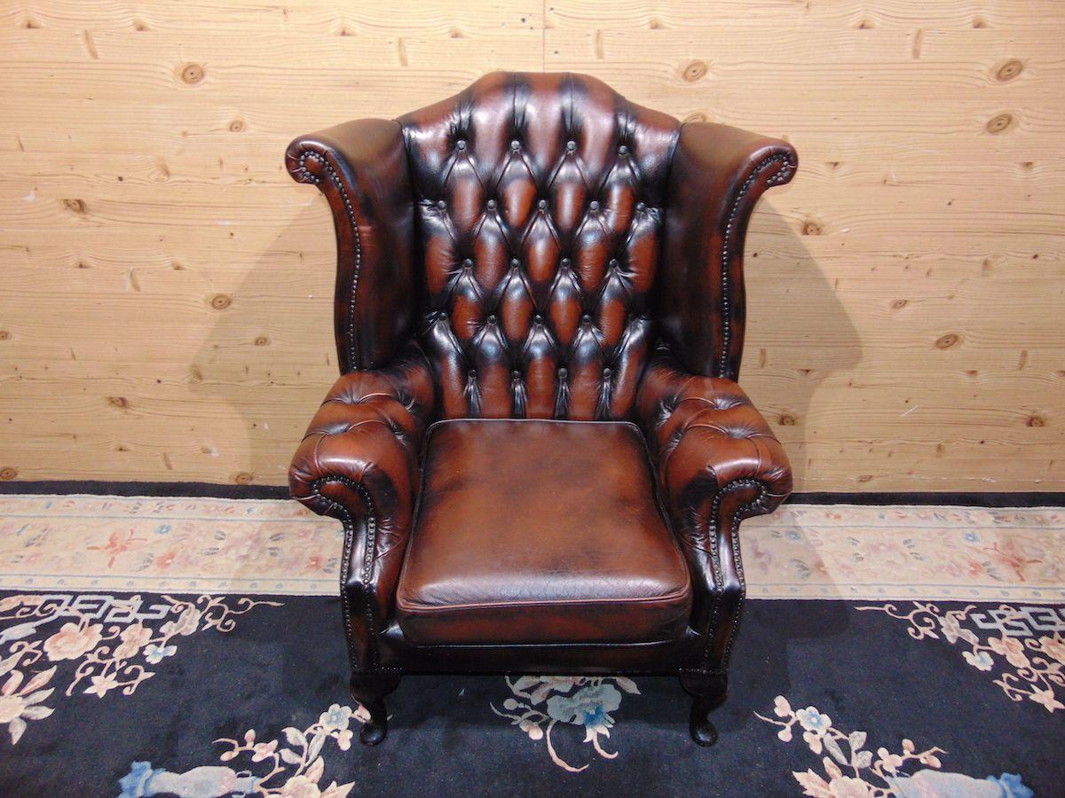 Poltrona Chesterfield marrone 2151..jpg