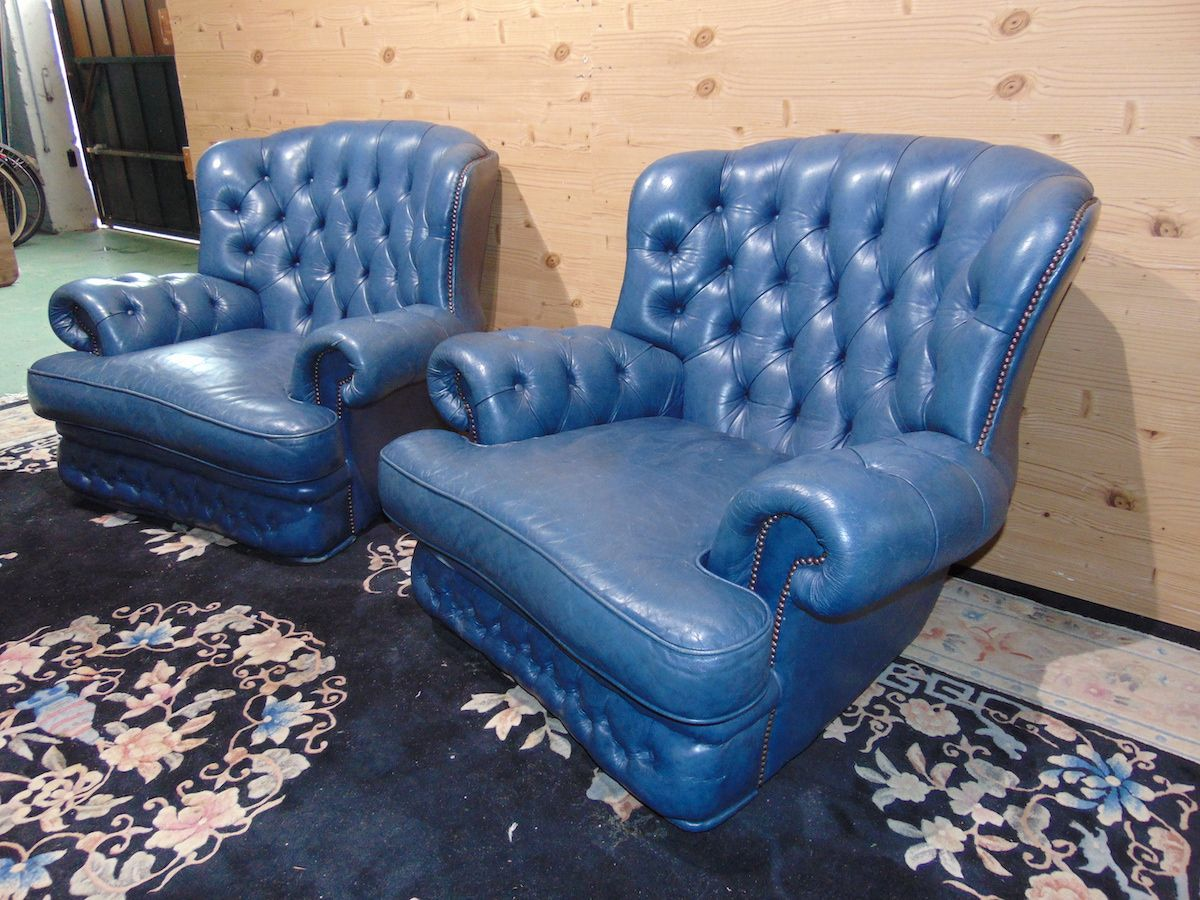 Salotto Chesterfield blu 2190....jpg
