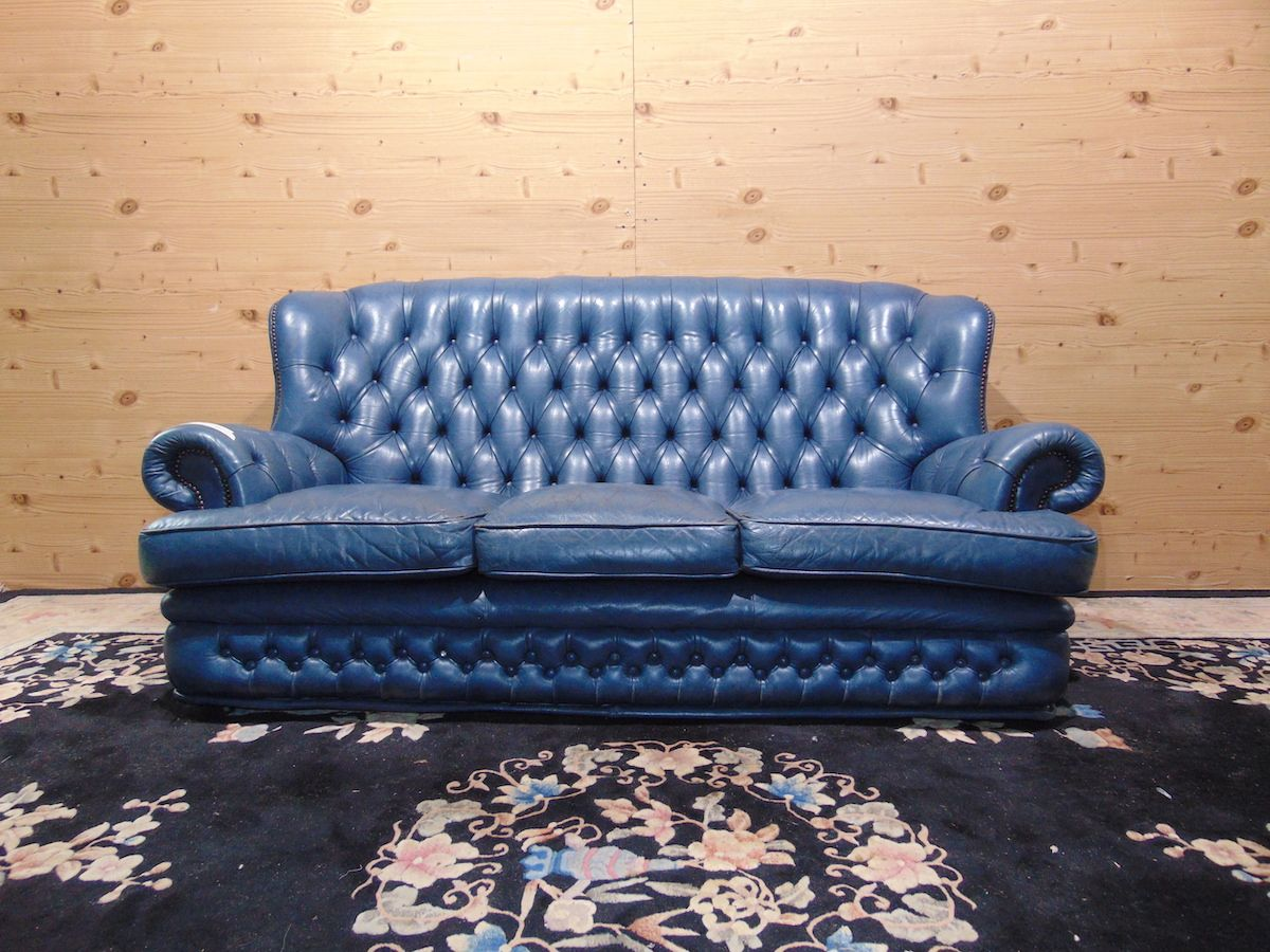 Salotto Chesterfield blu 2191....jpg