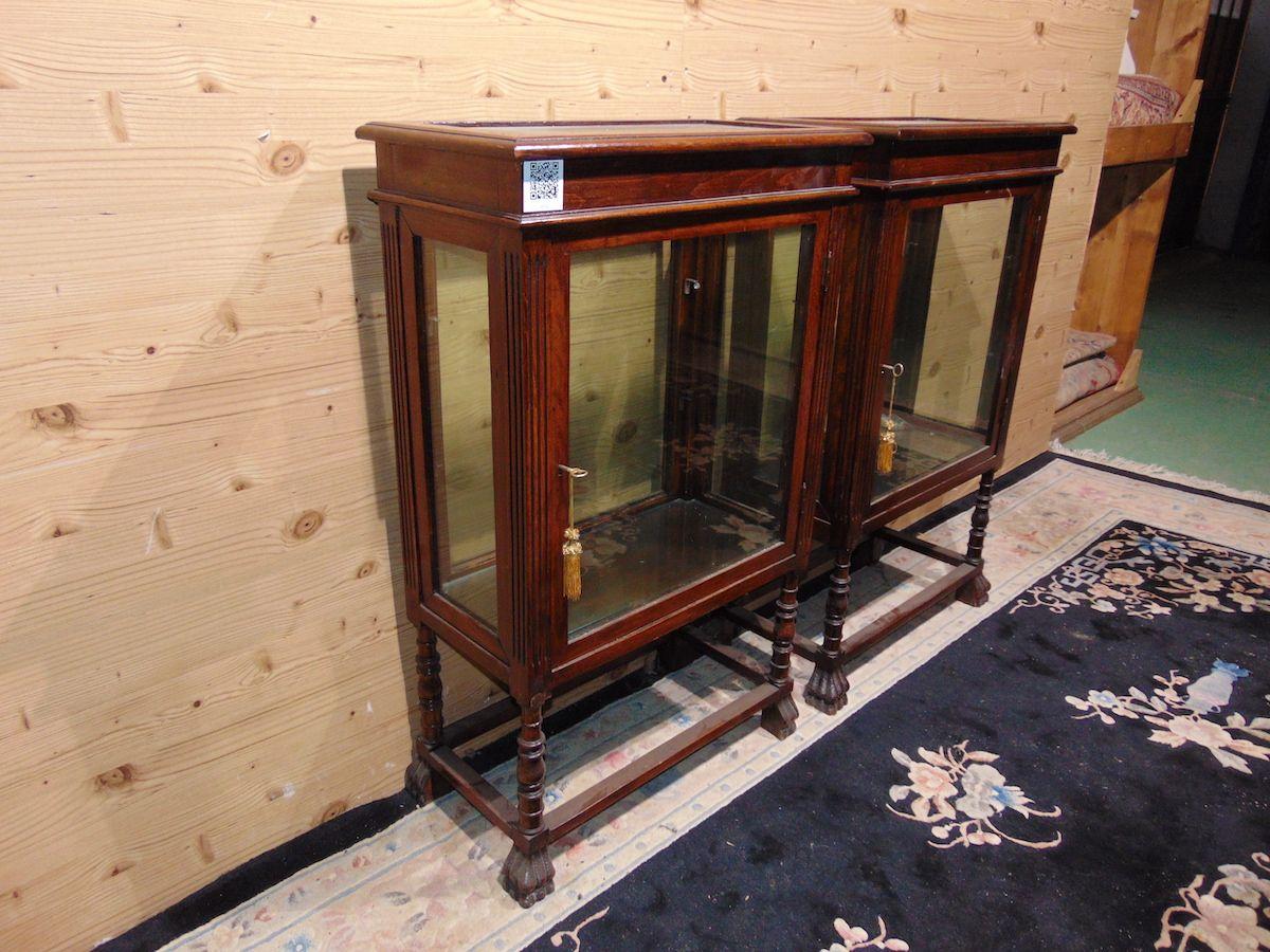 Pair of Lombard walnut display cabinets 2210..jpg