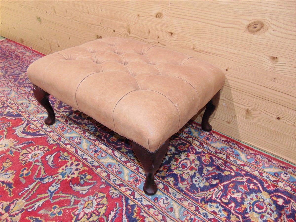 New antique pink Chesterfild pouf dsc05766.jpg