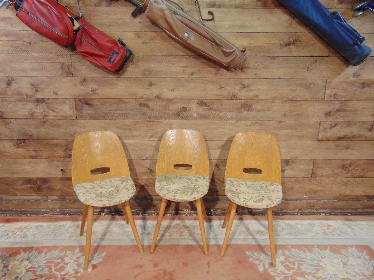 Sedie vintage in legno e tessuto dsc02682.jpg