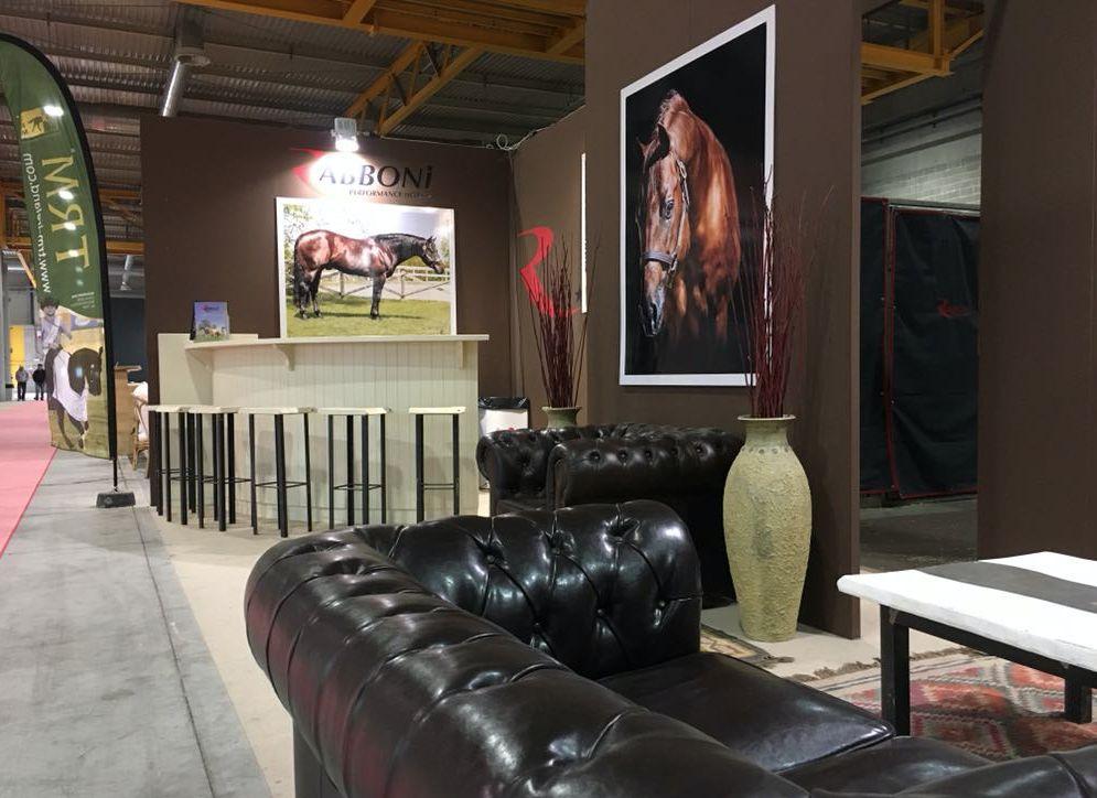 Allestimento stand al salone del cavallo americano a Cremona schermata2018-06-04alle12.52.57.png