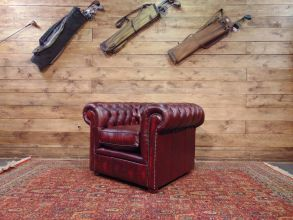 New Chesterfield armchairs