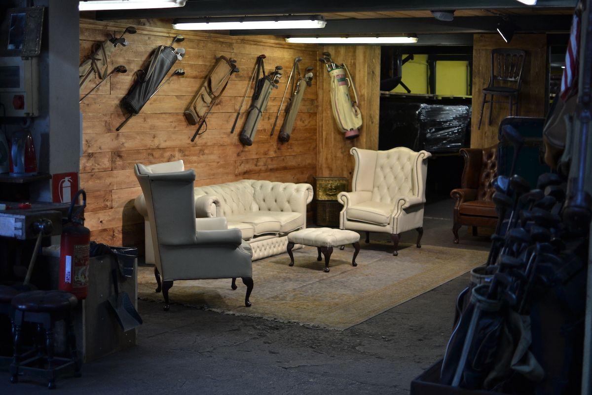 Esempio di salotto for Negozi arredamento usato milano