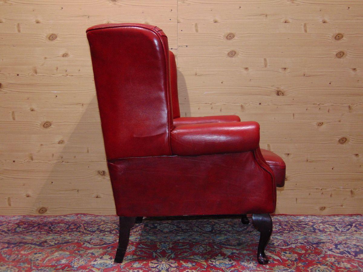 Poltrona Chesterfield Queen Anne color rosso dsc05324.jpg