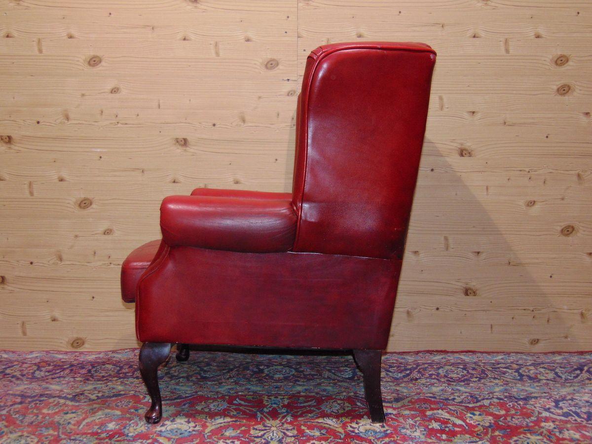 Poltrona Chesterfield Queen Anne color rosso dsc05325.jpg