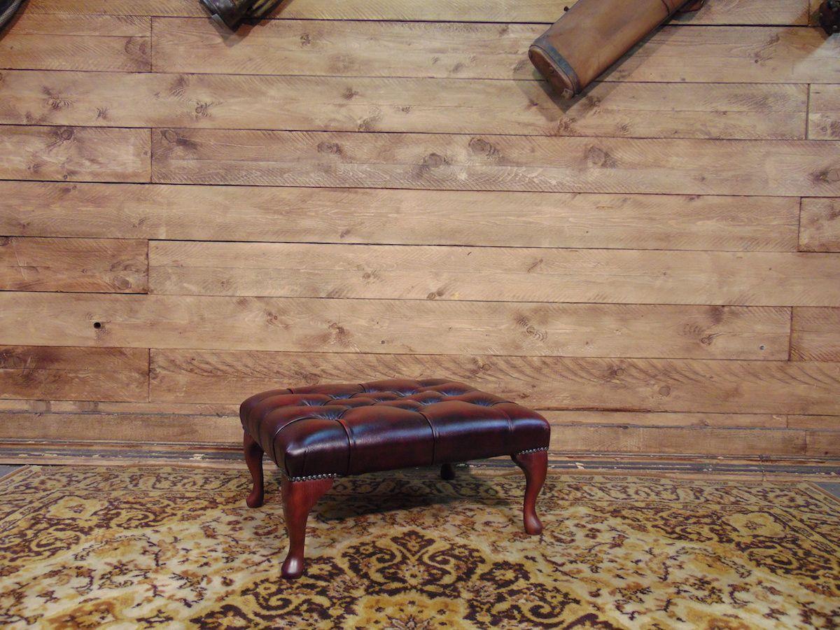 Pouf Chesterfield nuovo originale inglese in vera pelle di vitello color bordeaux dsc00983.jpg