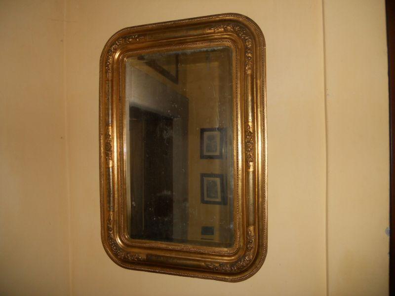 Specchiera Biedermeier in foglia d'oro zecchino di epoca 1840-60 071215251615_b.jpg