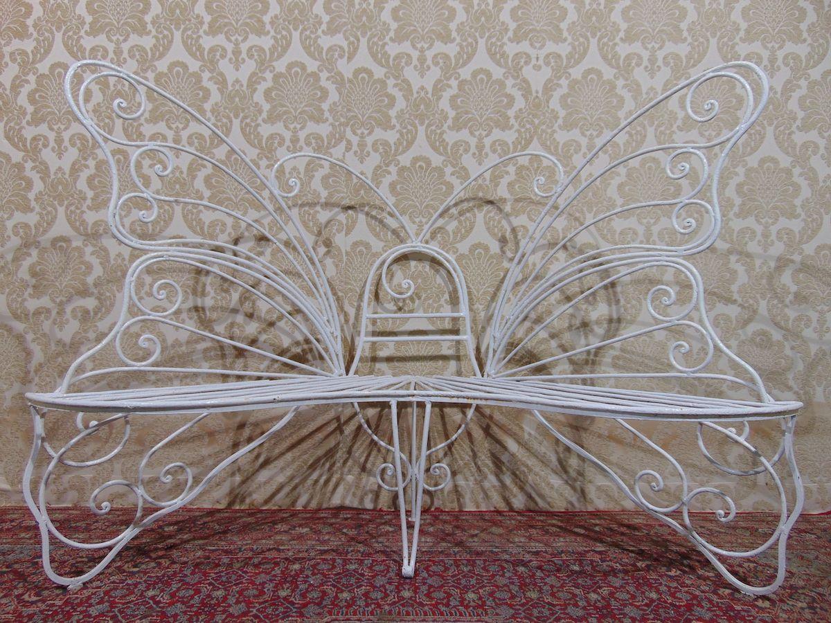 Panchina in ferro a farfalla 2065.jpg