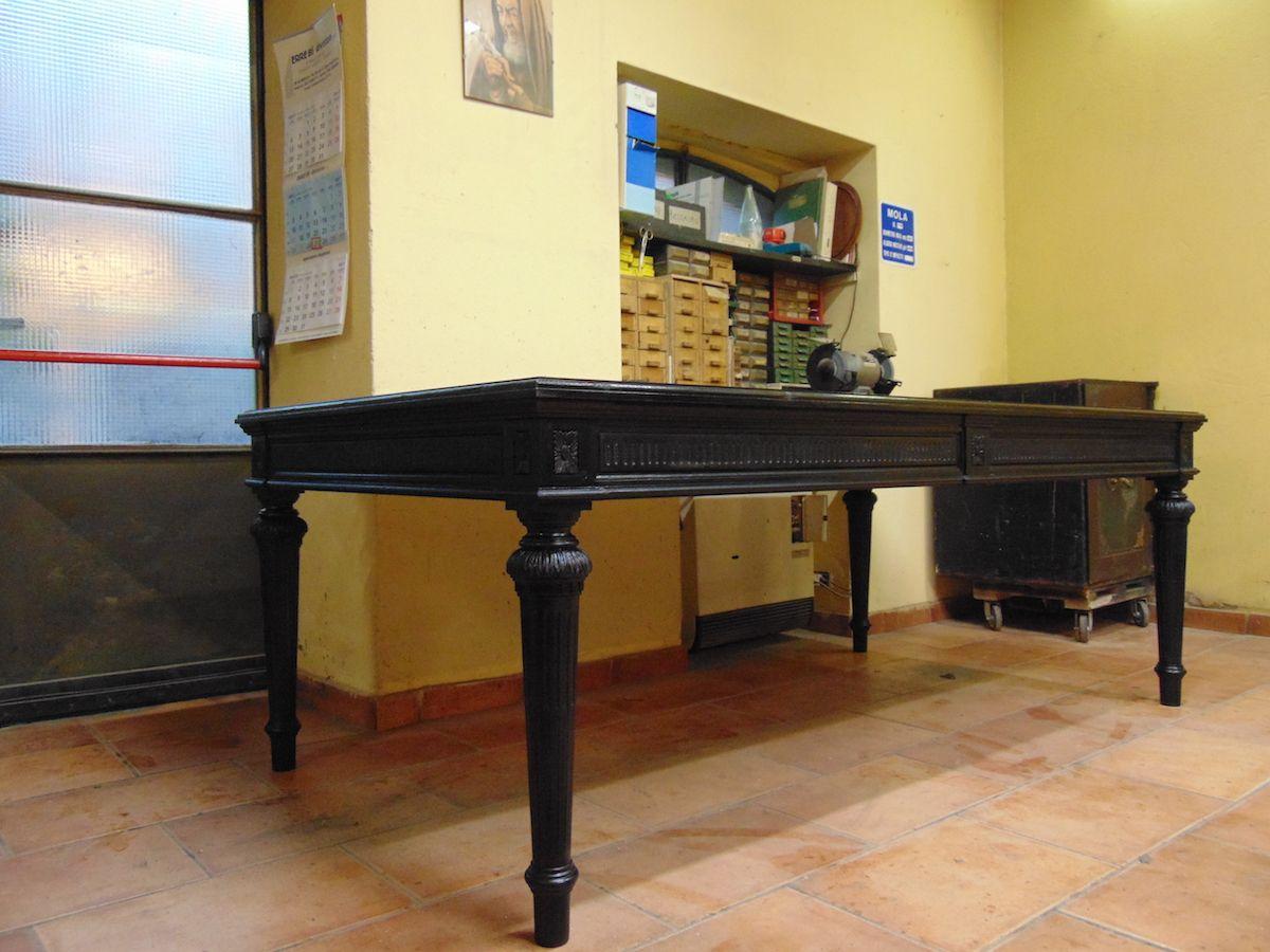 Tavolo nuovo costruito in pioppo nero dsc00672.jpg