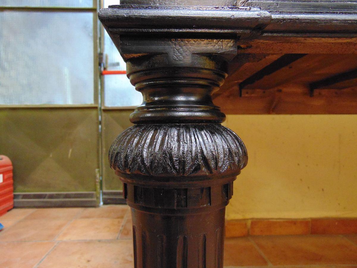 Tavolo nuovo costruito in pioppo nero dsc00676.jpg