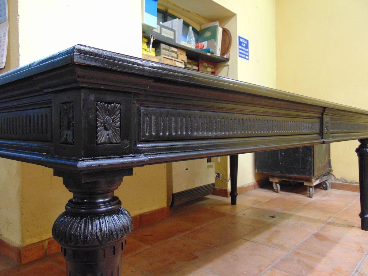 Tavolo nuovo costruito in pioppo nero dsc00677.jpg