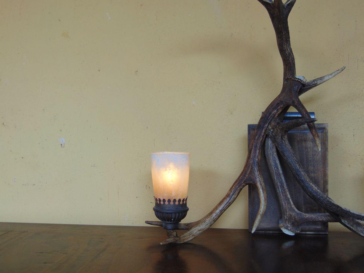 Lampada in corna di cervo dsc01010.jpg