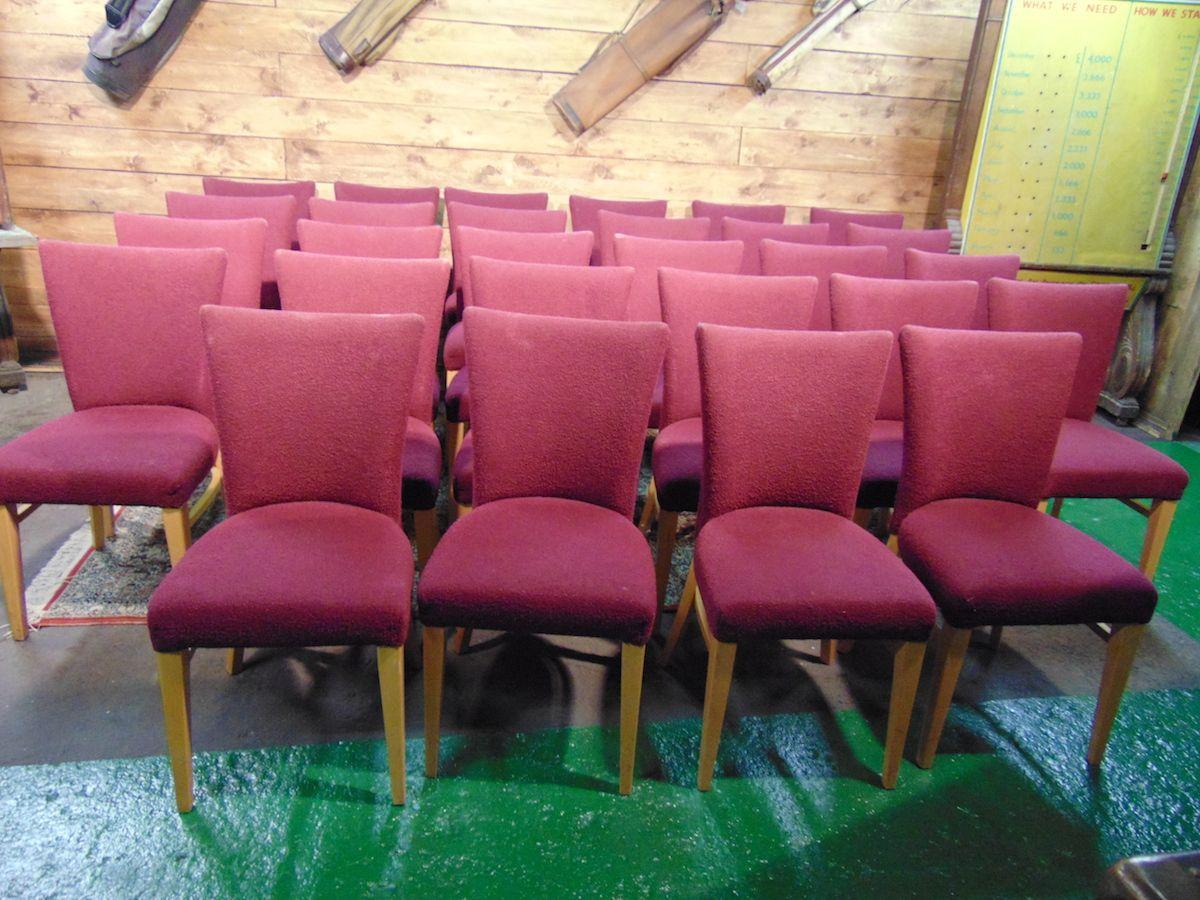 Sedie inglesi in stoffa rossa dsc01083.jpg