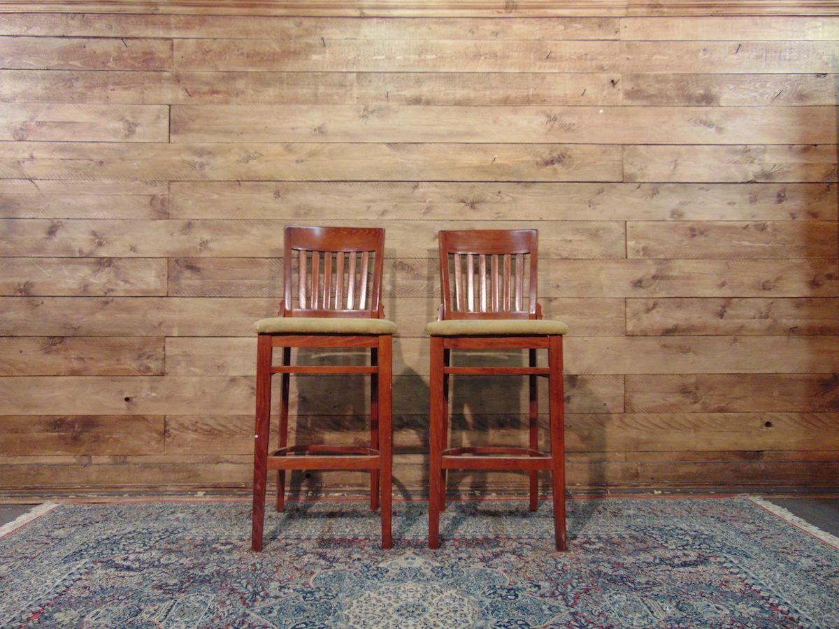 Sgabelli da pub in legno e tessuto dsc01433.jpg
